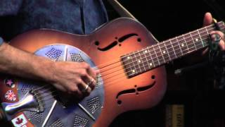 Brooks Williams Weeping Willow Blues Live From Blue Rock