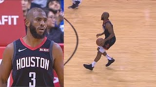 Chris Paul Goes CRAZY From 3 Point Range With The Rockets! Rockets vs Timberwolves