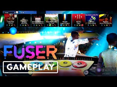 Gameplay de FUSER