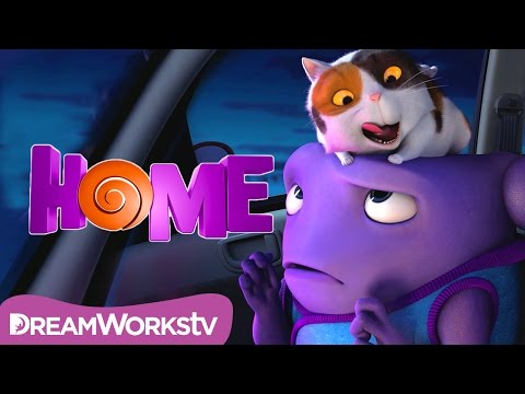 Home (2015) (Clip 'Cat Infested Car')