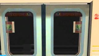 [openBVE - Harbourvale City] Airport Express Line: Stadium To East Harbour - East Harbour Bound