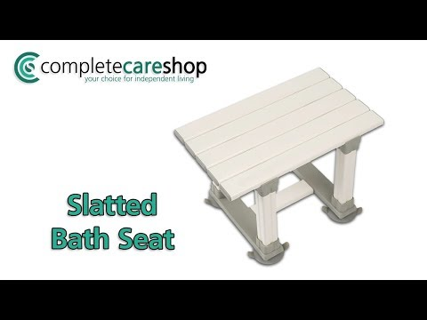 Merlin Bath Seat Demo