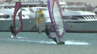preview picture of video 'Windsurfing. Egypt. El Tur. 5 2013'