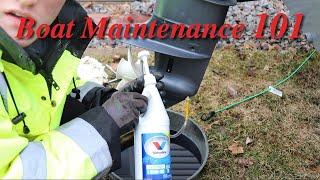 De Winterizing Our Boat - Boat Maintenance 101
