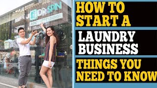 HOW TO PUT UP A LAUNDRY SHOP BUSINESS I THINGS YOU NEED TO CONSIDER I DR.SPIN LAUNDRETTE LOUNGE