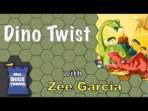 The Dice Tower reviews Dino Twist