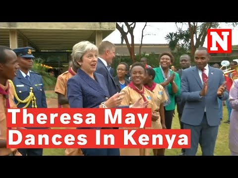 Politics] Theresa May Dancing