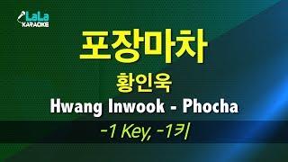 황인욱(Hwang Inwook)   포장마차(Phocha) ( 1키) 노래방 LaLaKaraoke