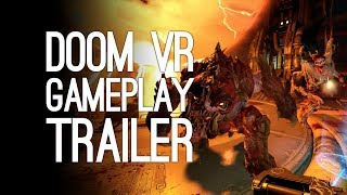 DOOM VR Gameplay Trailer – Doom VFR E3 2017 Reveal Trailer