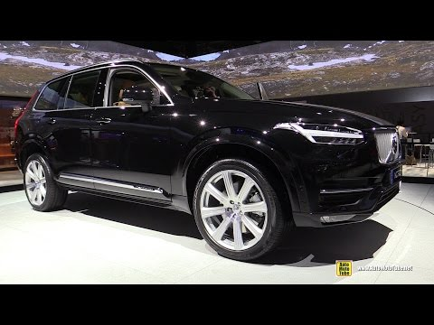 2015 Volvo XC90 T8 - Exterior and Interior Walkaround - Debut at 2014 Paris Auto show