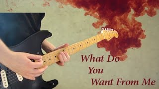 Pink Floyd   What Do You Want From Me Guitar Cover