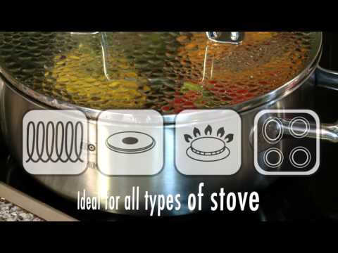 ELO Premium Multilayer Stainless Steel 8-Piece Cookware Set