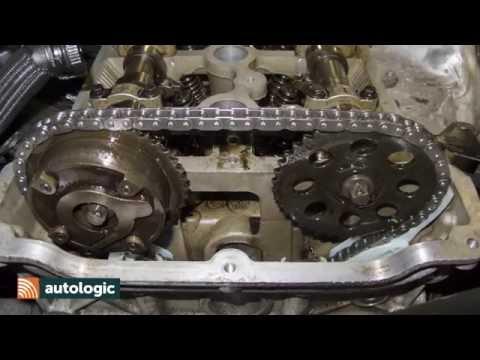 MINI N Engine timing chain Replacing