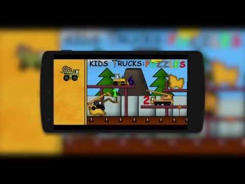 Video of Kids Trucks: Puzzles - Golden