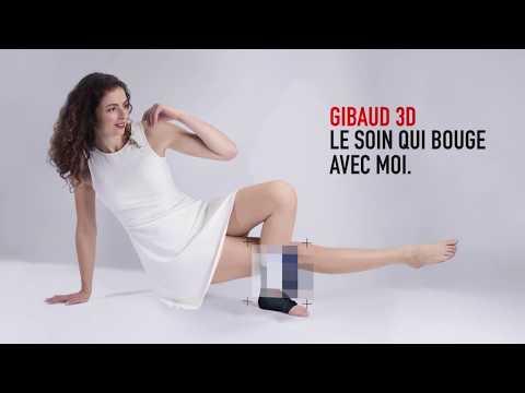 Gibaud - Chevillère MALLEOGIB 3D Strap BLEU- taille 5