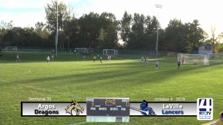 Girls Soccer Sectional Semifinal - Argos vs LaVille