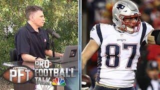 Rob Gronkowski's retirement caught Drew Rosenhaus by surprise | Pro Football Talk | NBC Sports