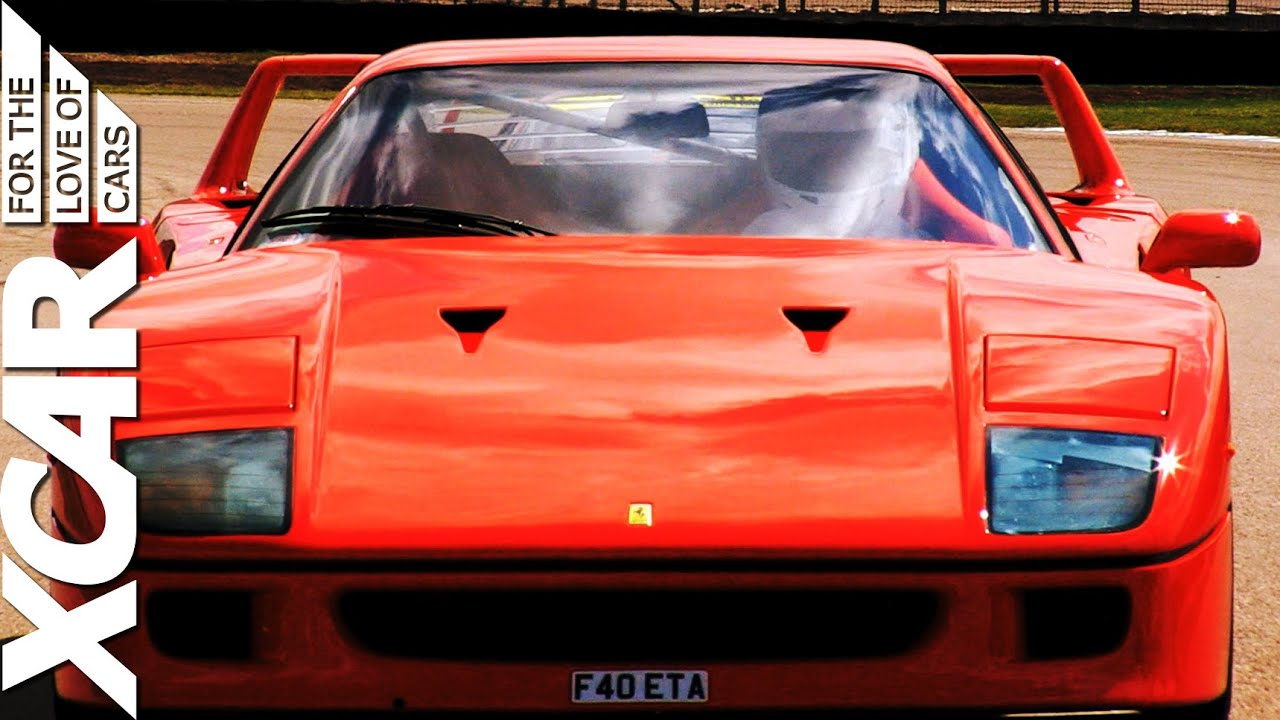 17 Glorious Minutes Of The Ferrari F40