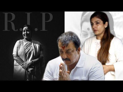 Sushma Swaraj Passes Away Sanjay Dutt Raveena Tand
