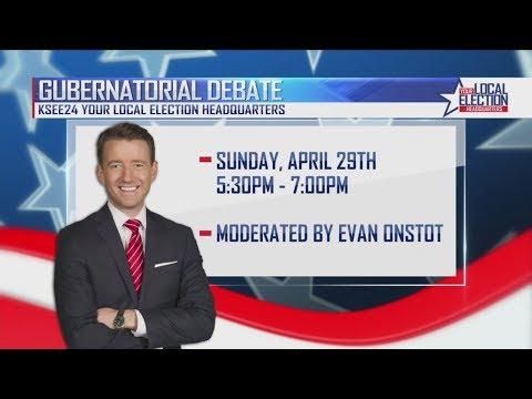 KSEE24's Live Gubernatorial Debate