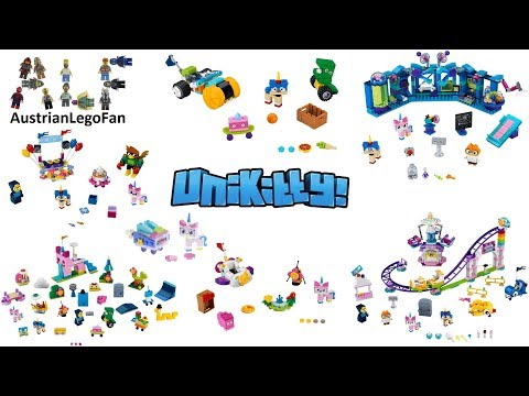 All Lego Unikitty Sets 2018 Complete Collection - Lego Speed Build Review