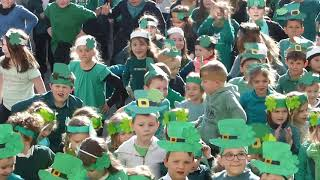 La Saint Patrick à L'école Notre Dame