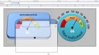 Excel - Créer Votre Indicateur De Performance De Type Jauge