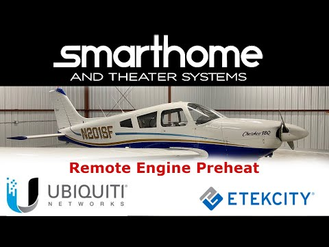 Remote Preheat Enabled by Unifi LTE WAN and EtekCity Outlets
