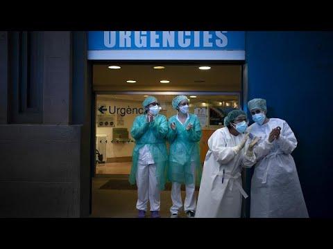 COVID-19: Νέα αύξηση νεκρών στην Ισπανία – 757 το τελευταίο 24ωρο…
