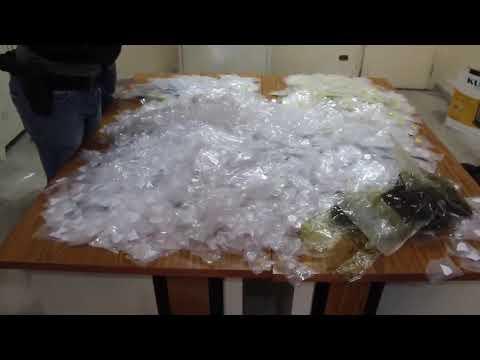 بالفيديو .. ضبط إحدى أكبر عمليات ترويج للمخدرات بلبنان