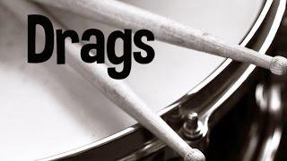 Drags na Bateria - o que são e como tocar esse rudimento