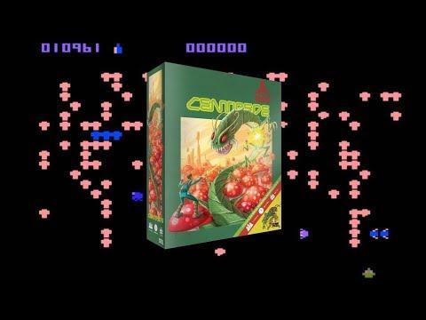 Boardgame Night ; We play Atari : Centipede