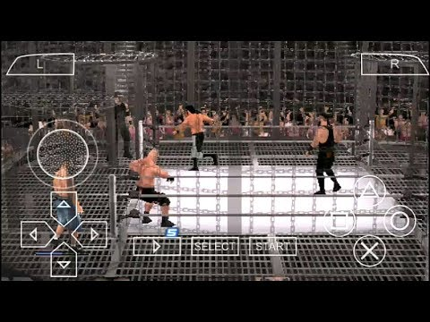 Wwe Elimination chamber Match:John Cena,Lesnar And Srowman Vs Roman,Rollins And Owens(Game Version)