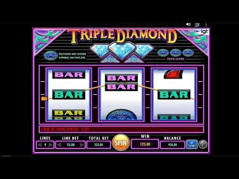 Tragamonedas Gratis Triple Diamond de IGT