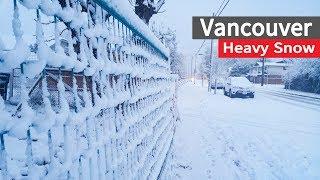 Vancouver Winter Heavy snow 2016-Dec
