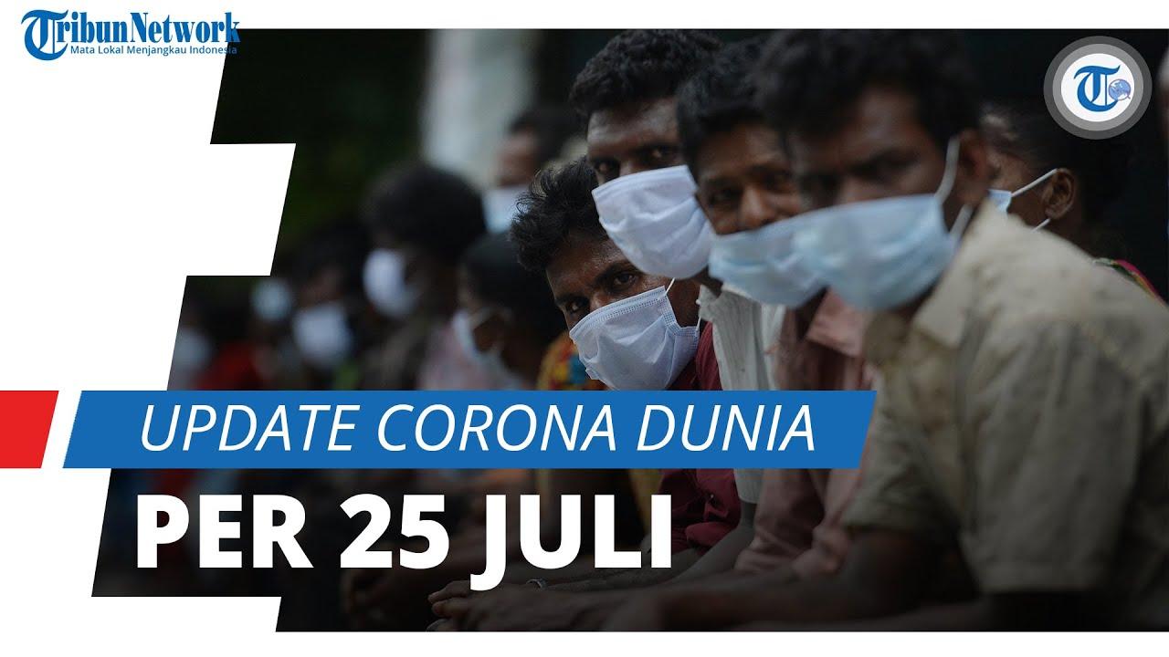 Update Corona Dunia per 25 Juli 2021: Bertambah 490 Ribu, Total Kasus Infeksi 194,3 Juta