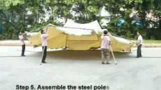 Assembly Instruction for Octagonal Festival Gazebo