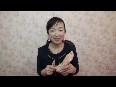 【ひろこの「おじゃまします!おもしろ県民さん」】西川さん_足もみマッサージ1「自宅で簡単マッサージ」