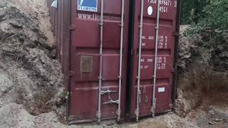 How To Bury Shipping Container Part 7 Project Complete Underground Storm Shelter