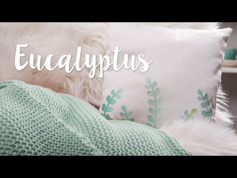 DIY: Eucalyptus Cushion - Sizzix