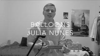 | Julia Nunes - Balloons | (Jeff Miller ukulele cover)