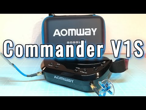 The most beautiful FPV goggle! Aomway Commander V1S