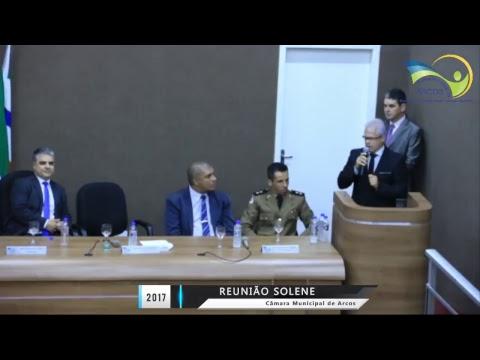 Reunião Solene de Honra ao Mérito e Cidadania Honorária (01/12/2017)
