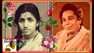 LATAJI & SHAMSHAD Begum~Film~SARTAJ~(1950)-Dilki