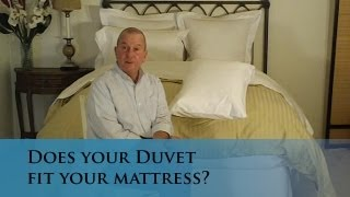 Does Your Duvet Cover Fit Your Bed & Mattress? (www.verolinens.com)