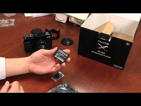 Fuji Guys - Fujifilm X-E2 - Unboxing & Getting Started