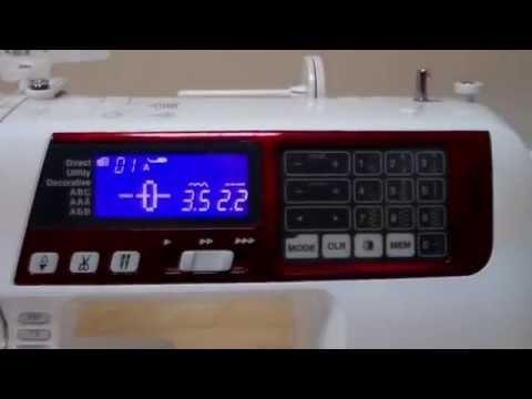 Ознайомлювальне відео на прикладі попередньої моделі JANOME 608 QDC