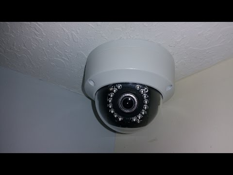 Hikvision DS-2CD2112-I  How To Install A Network Camera