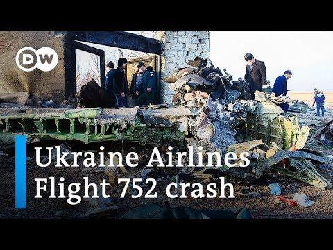 Ukraine Airlines Boeing 737 crash in Iran kills all on board   DW News