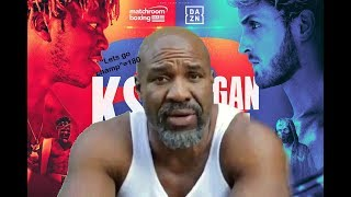 Shannon Briggs being annoying for 7 minutes, 32 seconds (Ksi vs Logan paul 2)